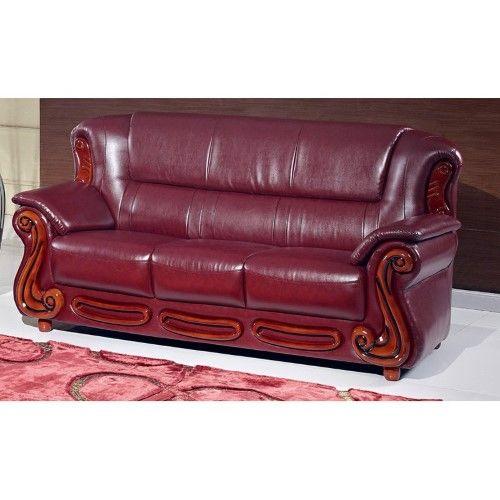 Best Meridian Furniture Inc Bella Sofa Red Leather Sofa 400 x 300