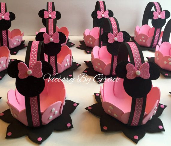 Rose Minnie anniversaire Minnie Mouse Goodie par VictoryByGrace