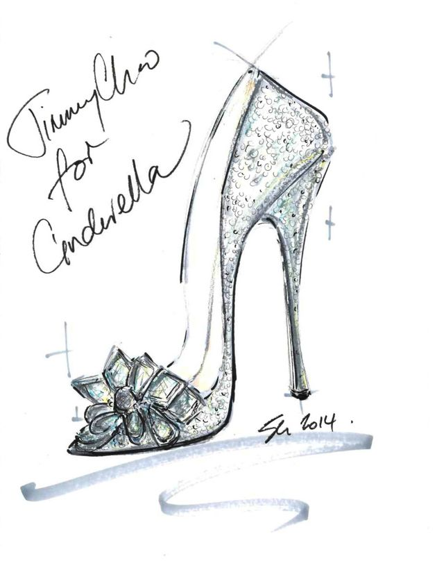遂に履ける!一流ブランド9社がシンデレラの『ガラスの靴』を 再現しました*にて紹介している画像