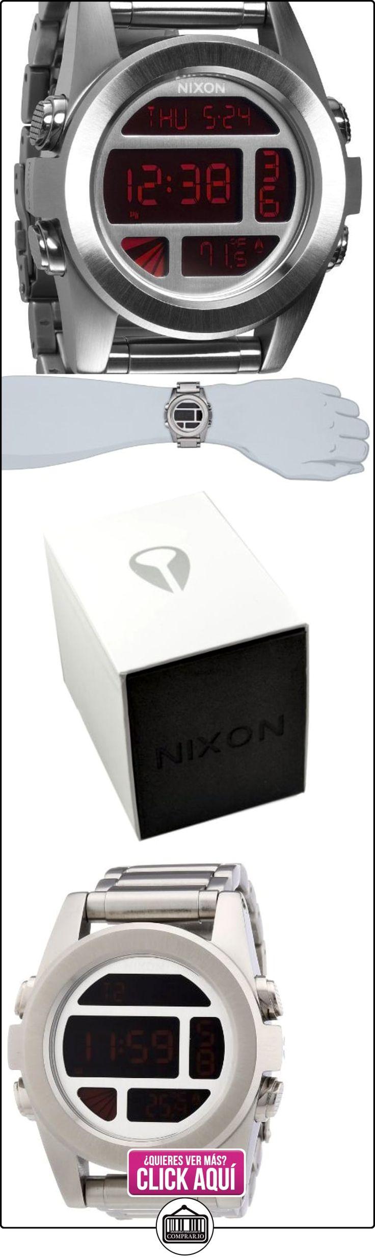 Nixon - Reloj para caballero de acero inoxidable multicolor  ✿ Relojes para hombre - (Gama media/alta) ✿ ▬► Ver oferta: http://comprar.io/goto/B00AEQ3AIY