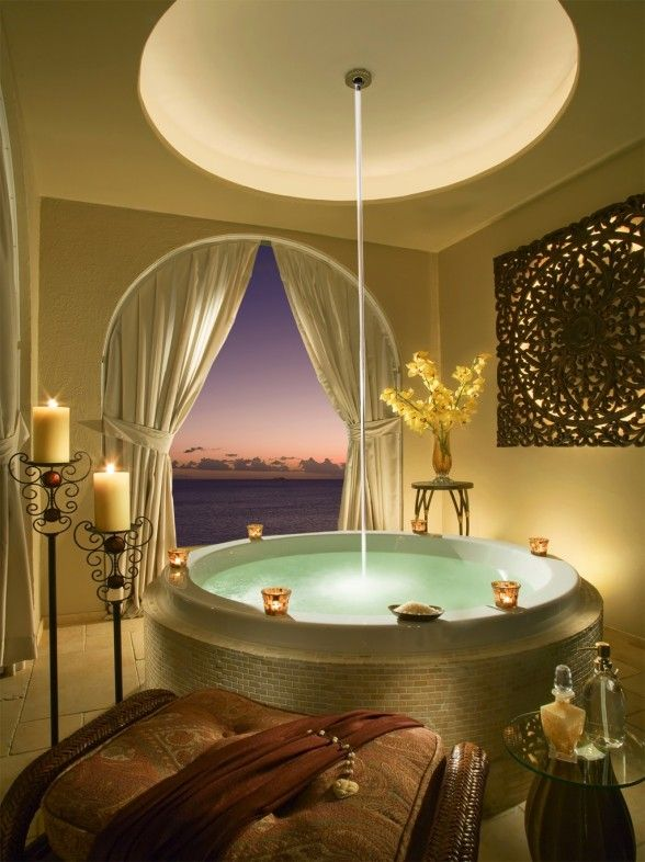 Best Baños Images On Pinterest Bathroom Architecture And - Luxury bath towel sets for small bathroom ideas