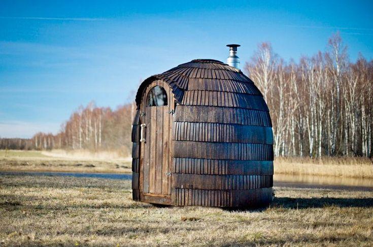 sauna en bois le jardin construction maison bois. Black Bedroom Furniture Sets. Home Design Ideas