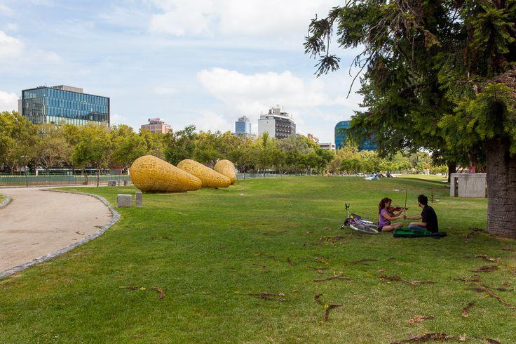 Parque de las Esculturas, un oasis en medio de la ciudad
