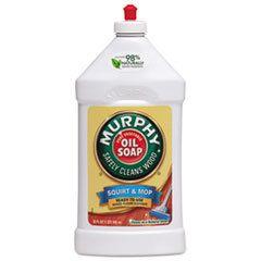 Murphy® Oil Soap Squirt and Mop Floor Cleaner, 32 oz Bottle, 12/Carton, 12/Carton