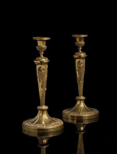 claude galle  flambeaux aux g u00e9nies ail u00e9s  mod u00e8les livr u00e9s  u00e0 fontainebleau en 1804 et 1805
