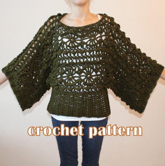 Crochet Pattern for sizes S-XL