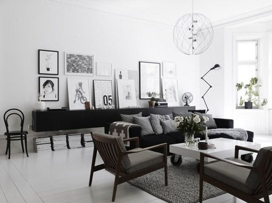 Just a little TOO grey/neutral for my taste, but I still like the space.
