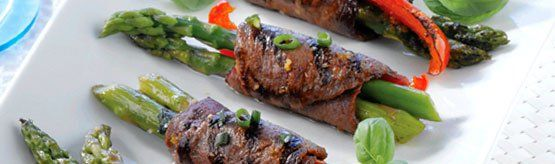 Grilled Beef Roulades