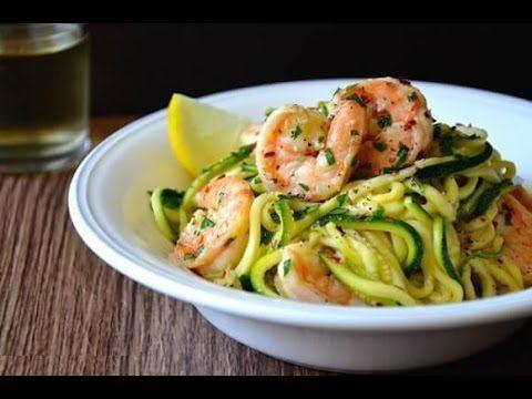 Spaghetti di zucchine,Ricetta Light,Facili e veloci - YouTube