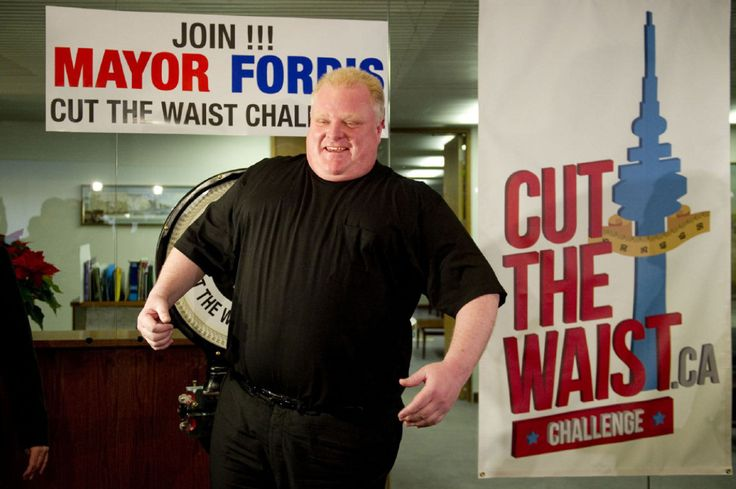 rob ford weight loss 2013