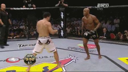 Remembering that time Maia went ham on Anderson Silva