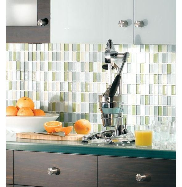 Kitchen Glass Tile Ideas: 170 Best Images About Various Kitchen Backsplashes On