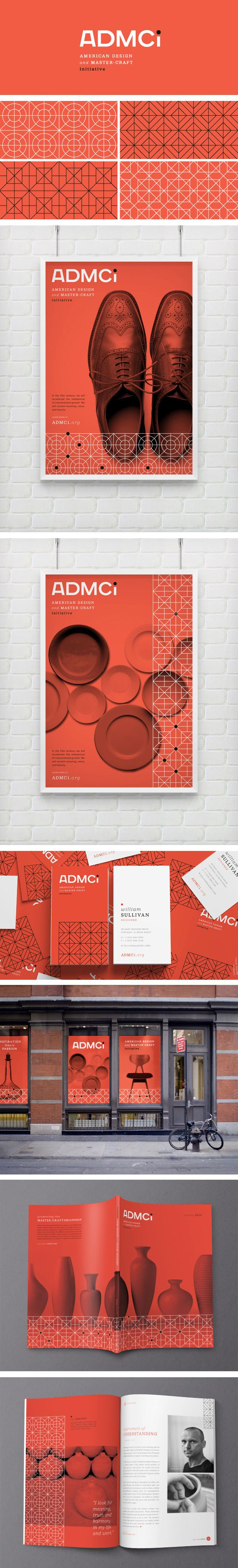 ADMCi Identity | Designer: Eight Hour Day  #stationary #corporate #design…