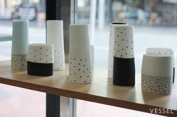 Vases by Renee Boyd vessel.co.nz