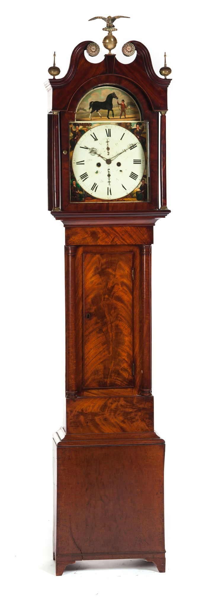 185 best tempus fugit images on pinterest antique clocks garths full details for lot 468 english georgian tall case clock late 18th century amipublicfo Image collections