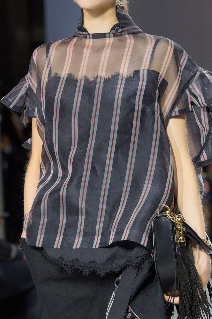 Sacai Spring 2017 Ready-to-Wear collection