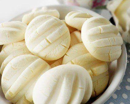 Sencillas galletas de almidón de yuca