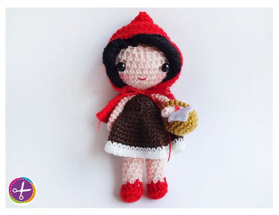 Little Red Riding Hood Amigurumi Doll