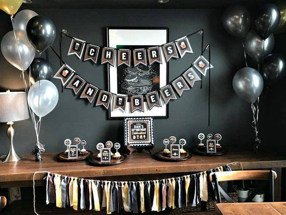 30th BIRTHDAY PARTY PACK DECORATIONS BANNER BALLOONS EX.P.5