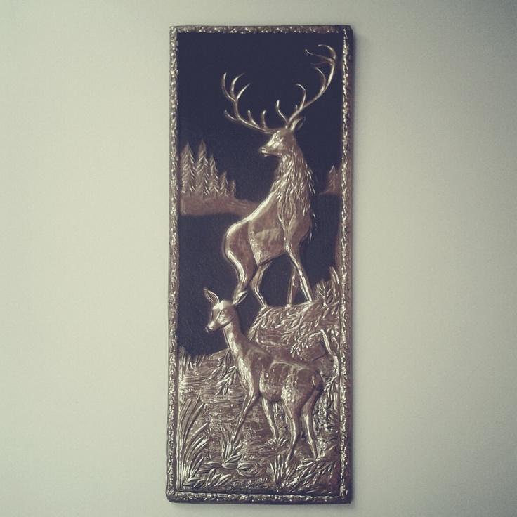"Deers bought in ""Treasure Island"" store in Kraków, Poland. / Photo by @Tomasz Jurecki #wysokipolysk #fleastyle #vintage"