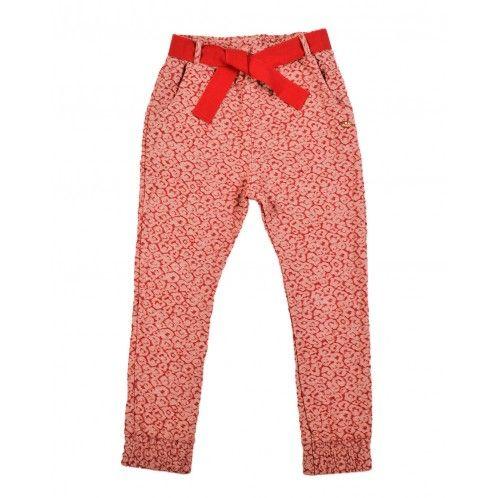 Scotch R'Belle Cotton Jacquard Trousers