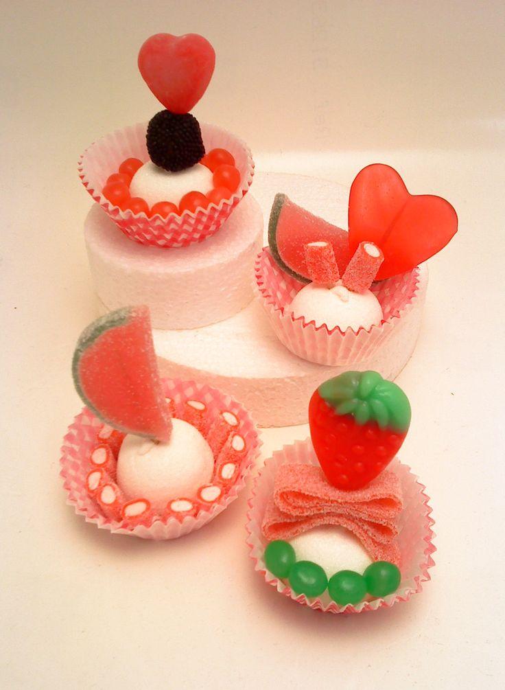 jellies cupcakes