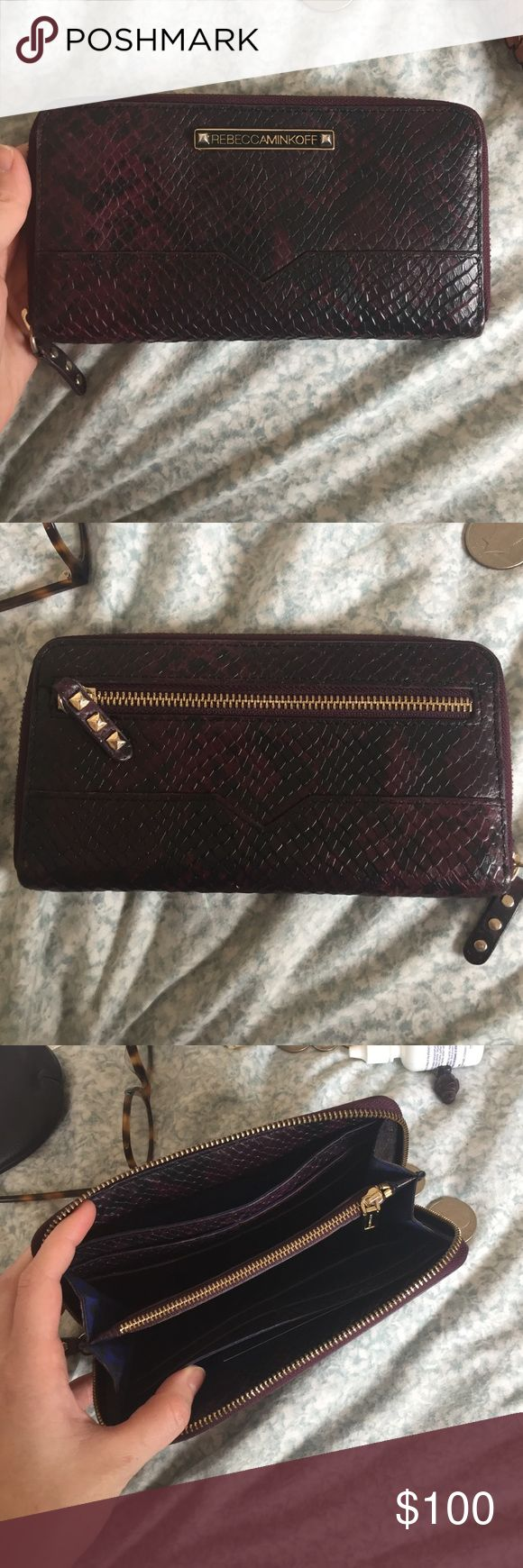 Rebecca Minkoff continental zip-around wallet Excellent, like new condition Rebecca Minkoff Bags Wallets