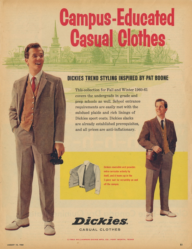 Campus-educated casual clothes for the 1960s gent - WHO'S AFRAID OF VIRGINIA WOOLF?