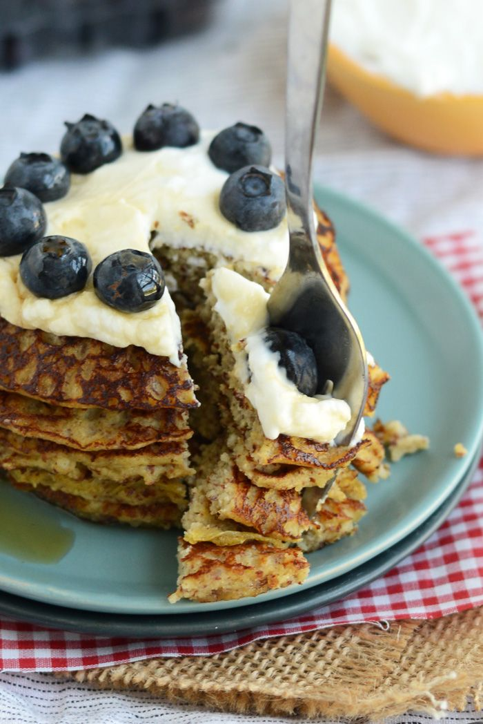 Grain-Free Applesauce Pancakes #justeatrealfood #fitfoodiefinds