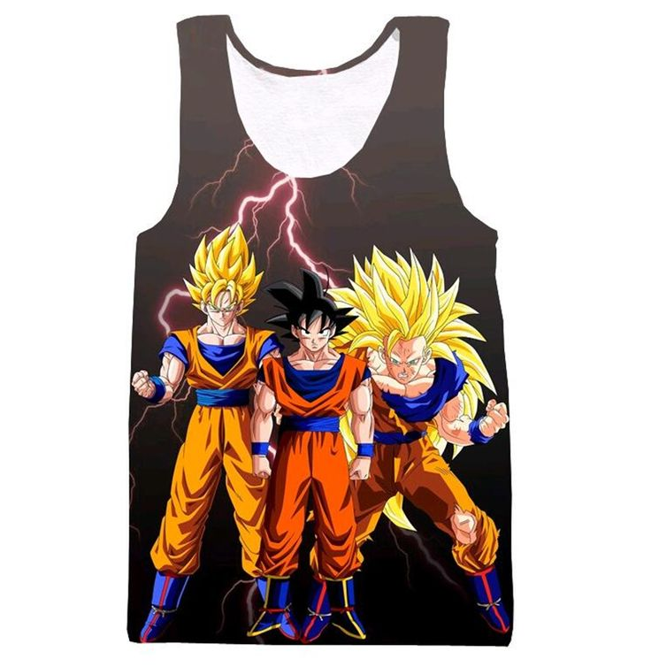 Dragon Ball Z Kame Tank Top - Art Style Gohan Free Shipping