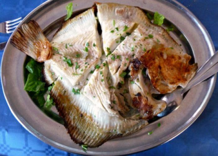 Fırında Kalkan Balığı Tarifi