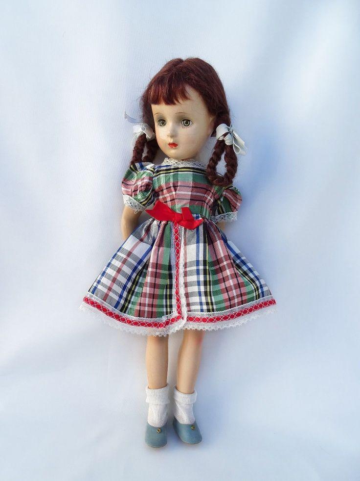 "GORGEOUS!!! Vintage Madame Alexander ""Margaret O'Brien"" Composition Doll 18""  |  | eBay!"