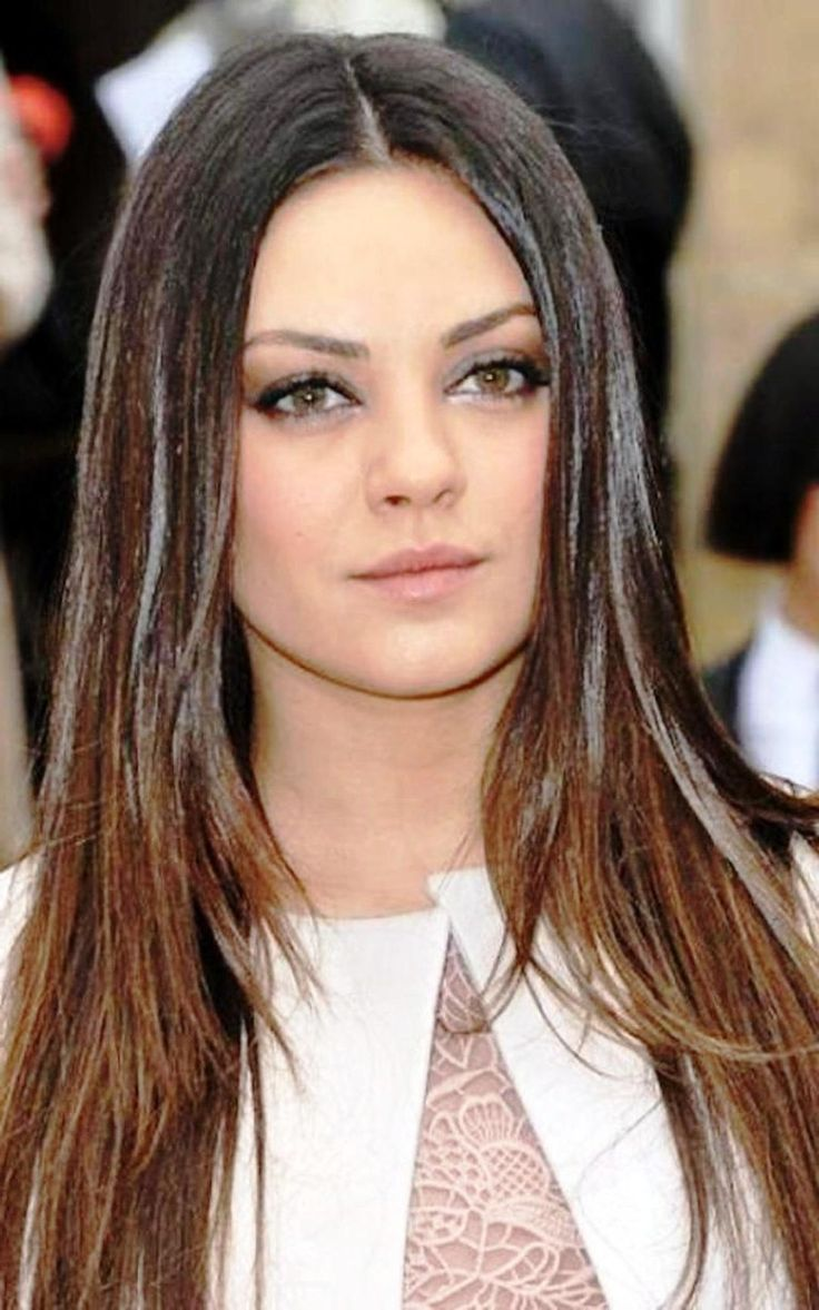 14 best long haitcuts images on pinterest | hairstyles for round