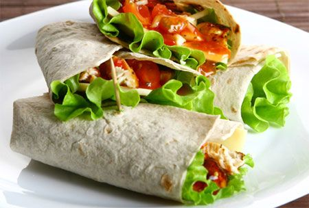 Rice & Bean Wraps with Guacamole Home-Dzine - Adopt a vegetarian lifestyle