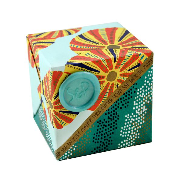 Marine Cube Soap by SOAP + PAPER FACTORY
