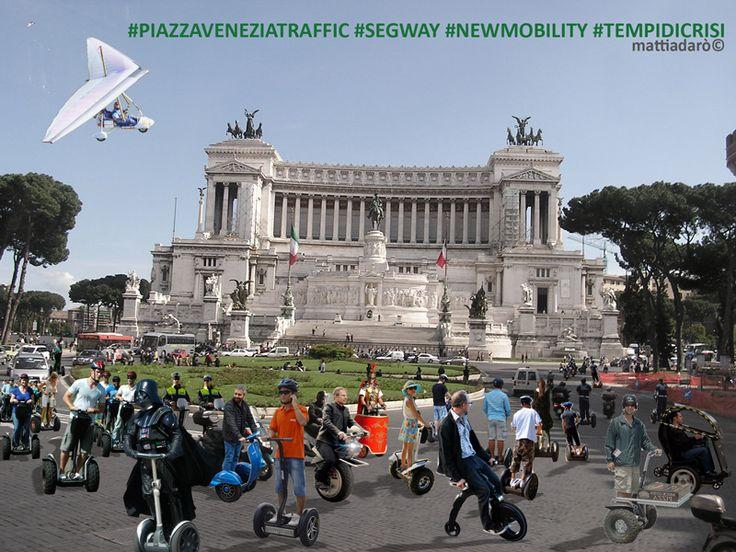 piazza venezia segway (mattiadarò©)