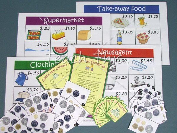 Money Game - Coins