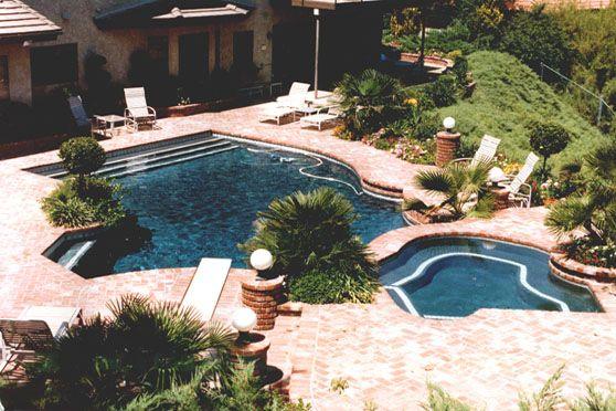 15 best pool side paradise images on pinterest backyard for Pool design ventura