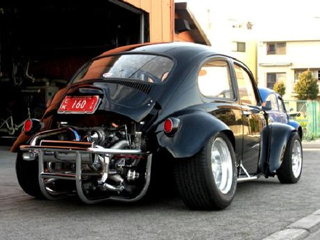Look at that rear end :o VW BEETLE BAJA BUG www.cardeck.co.uk