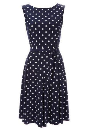 1000  ideas about Polka Dot Dresses on Pinterest | Polka dots, Dot ...