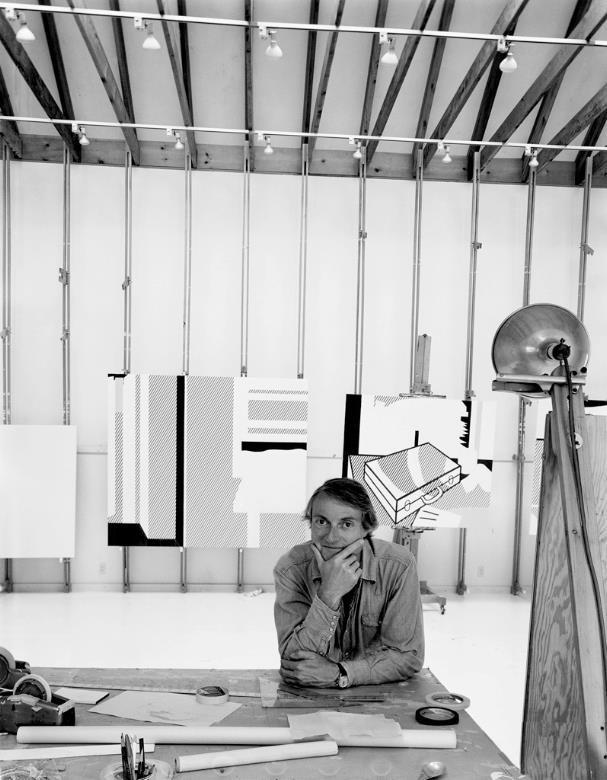 Roy Lichtenstein - (born October 27, 1923, Manhattan, NY - Died: September 29, 1997, Manhattan )
