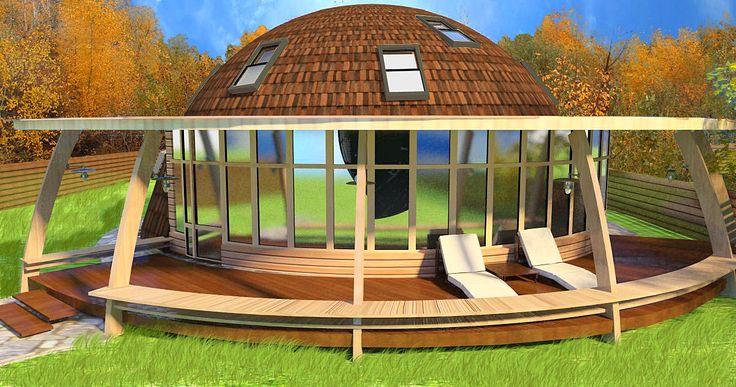 Моя компания - Проекты купольных дом