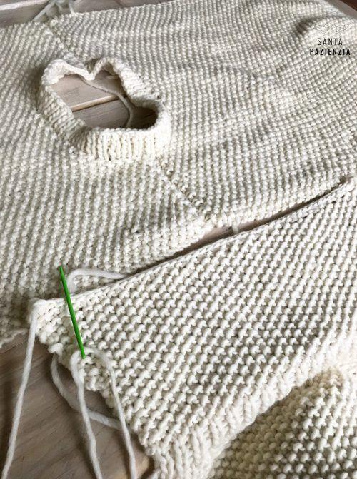 Te atreves a tejer un jersey en punto arroz? | SANTA PAZIENZIA | De ...