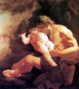 Saturno - Mitologia Grega