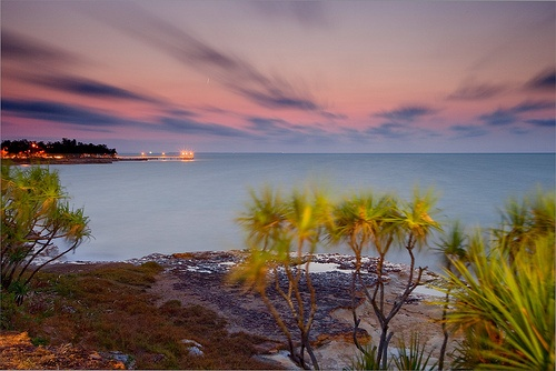 Nightcliff after Sunset, Darwin, Australia