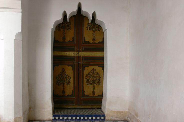 https://flic.kr/p/RAk6YS | MARRAKECH (Maroc). Marrakech-Tensift-Al Hauz. 2006. Palais de la Bahia. Detalle.