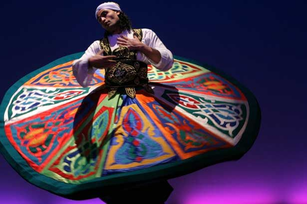 Traditional Tanoura Dance in Cairo