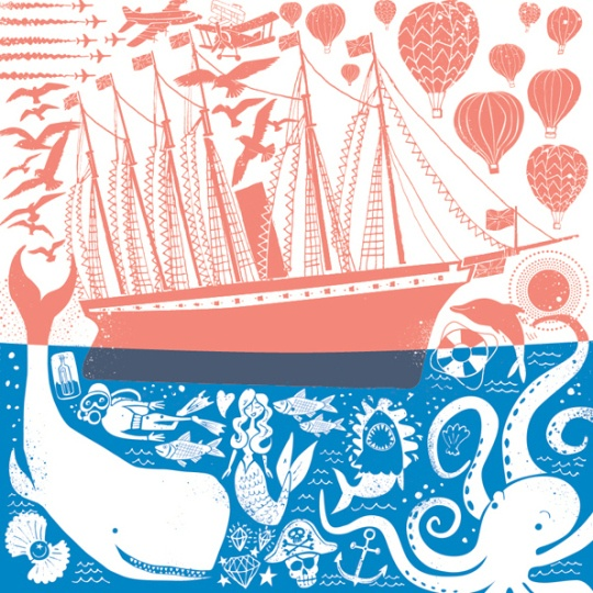 Chris Dickason. I love the sea... And hot air balloons and sail boats... And dolphins and whales