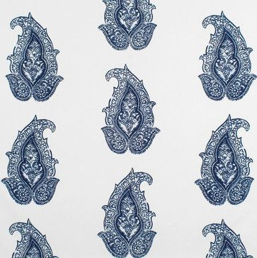 Ralph Lauren Robbins Hill Paisley Admiral Fabric - traditional - outdoor fabric - Online Fabric Store