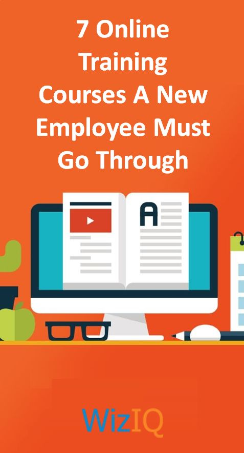 Find out the 7 most important #Online #Training #Courses that every #Employee must go through. https://blog.wiziq.com/7-online-training-courses-employee-must-go-through/